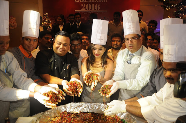 The Golkonda Hotel Celebrates​ ​Cake Mixing ceremony 2016