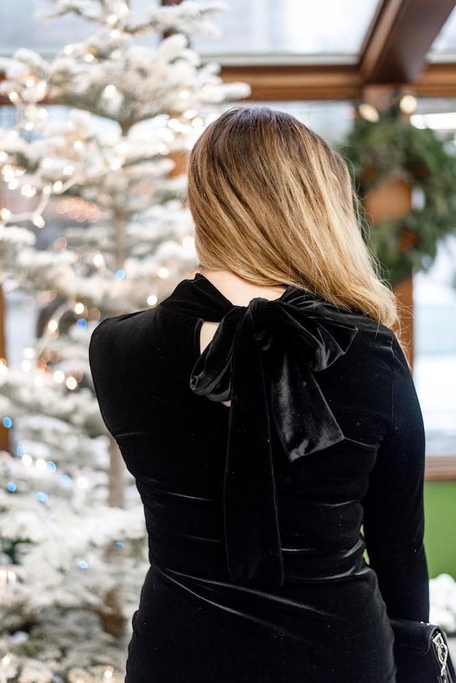 Black Velvet Bow