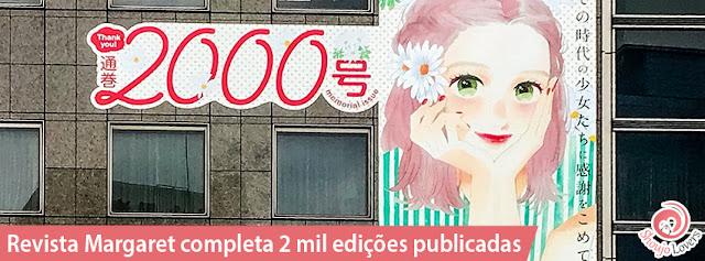 Revista Margaret completa 2 mil edições publicadas