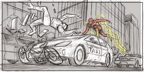 EXCLUSIVE THE FLASH Storyboard Artist Adrien Van Viersen Talks