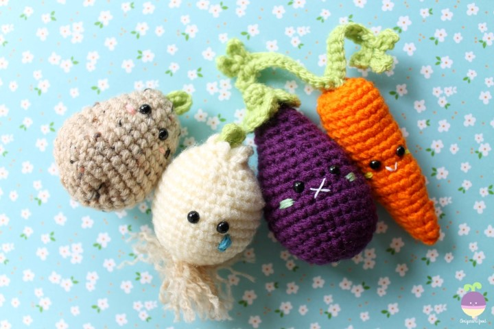 Crochet Fruit And Vegetable Patterns All The Best Ideas | 480x720