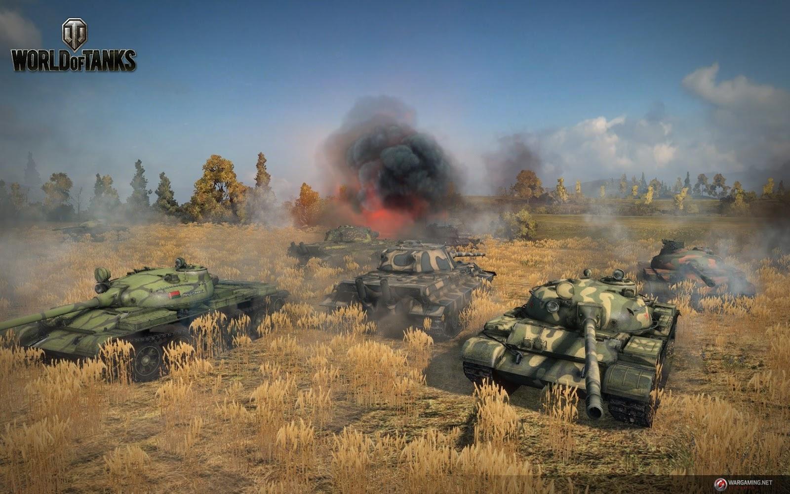 Download Game World of Tanks Server Asia