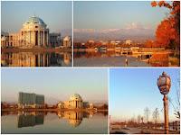 Озеро Джавонон, ранее Комсомольское озеро, Душанбе, Таджикистан