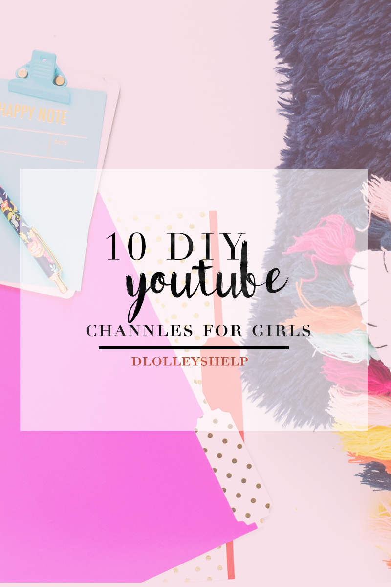 Diy Youtube Halloween Costume: DLOLLEYS HELP: 10 DIY Youtube Channels For Girls