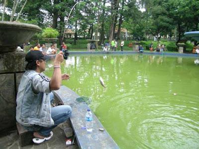 Bandungan fishing spot