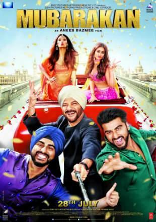 Mubarakan 2017 BluRay 450MB Full Hindi Movie Download 480p Watch Online Free bolly4u