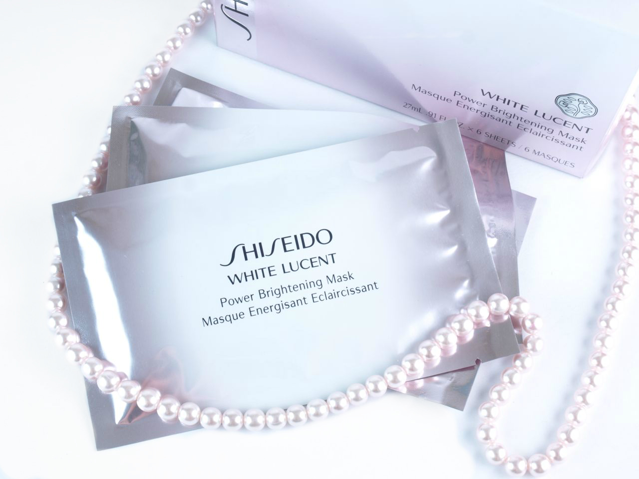 Image result for SHISEIDO WHITE LUCENT POWER BRIGHTENING MASK