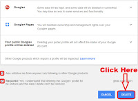 how to delete my google plus account