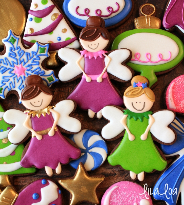 how to make decorated sugar plum fairy cookies lilaloa
