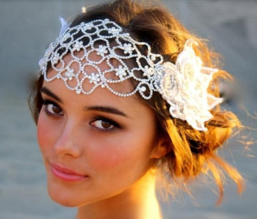 Wedding Hairstyles With Headpieces: Tre Bella Blog: Trend Spotting! :: Hippie Gypsy Whimsical