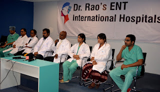 Dr. Rao's ENT Organizes Free ENT and Plastic Surgery Camp