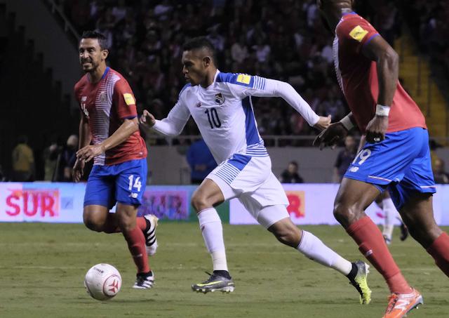 Costa Rica jugó ante Panamá en los Cuartos de Final