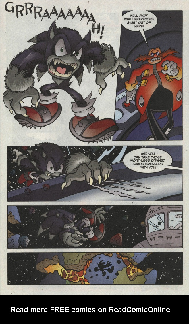 Read online Sonic The Hedgehog comic -  Issue #193 - 23