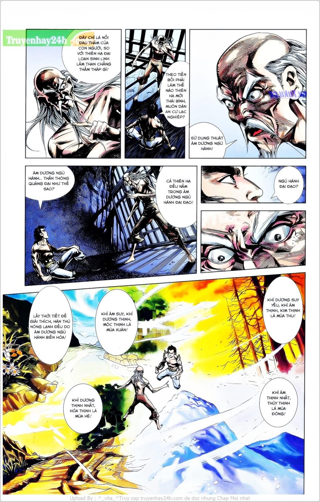 Tần Vương Doanh Chính chapter 25 trang 10
