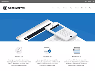 Genrate Press Theme of top 10 free wordpress theme