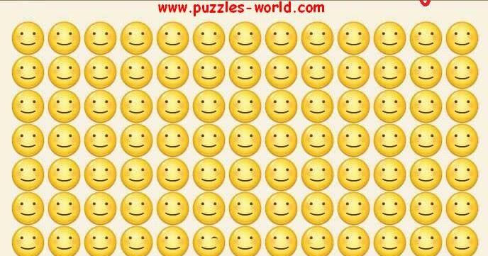 Find The Different Emoji Puzzles World