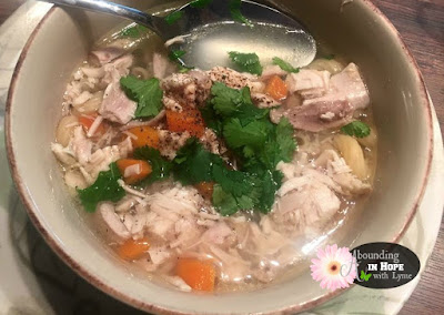 Abounding In Hope Chicken Soup Bone Broth