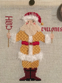 petei iowa state santa needlepoint
