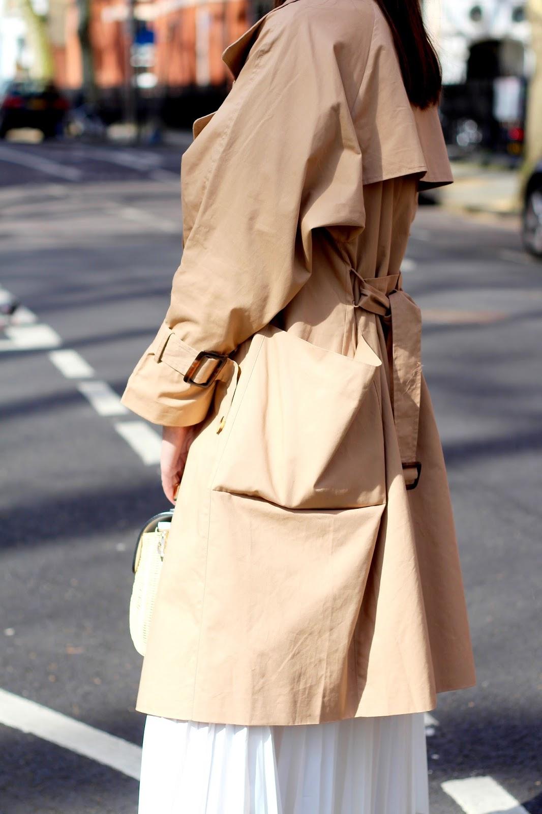peexo boohoo trench coat spring style