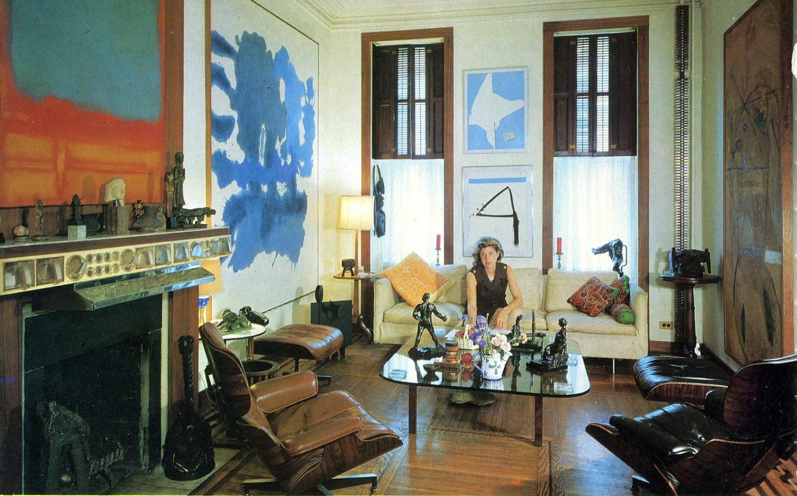 Le monde de Kitchi: Great Women # 35: Helen Frankenthaler