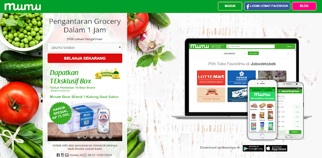Mumu, Supermarket Online Yang Kumplit