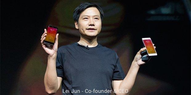 Kisah Sukses Pendiri Xiaomi - Lei Jun