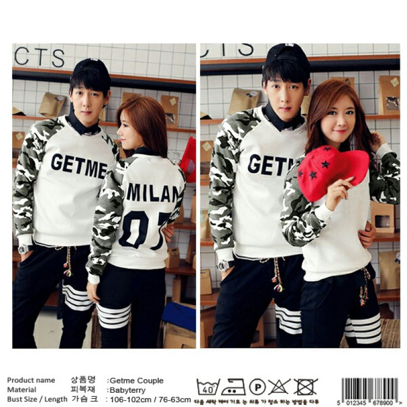 Jual Sweater Couple Sweater Get Me - 24295