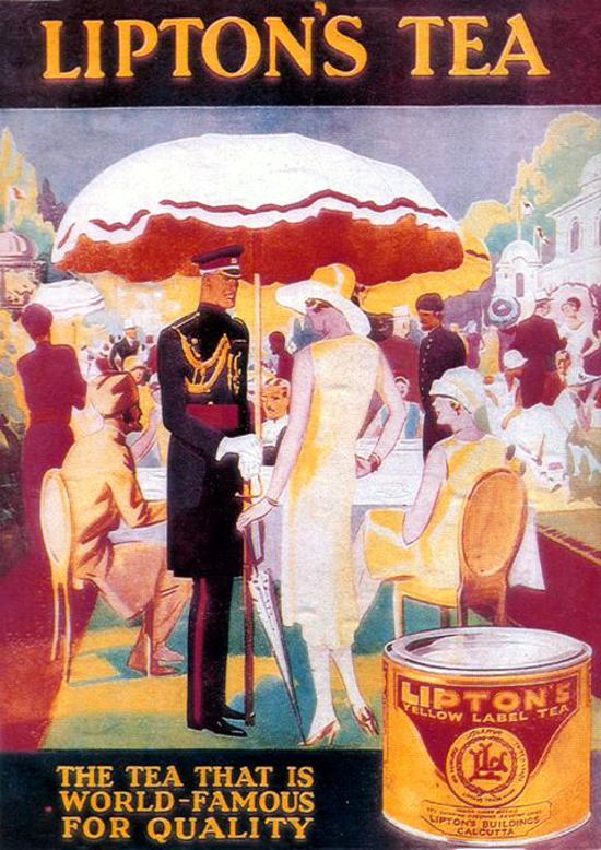 Lipton Tea Ad 1931