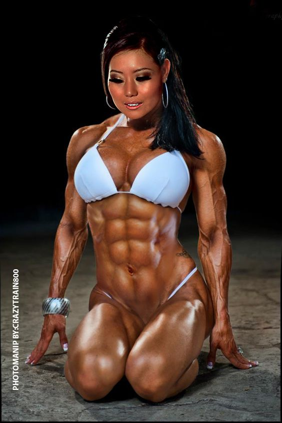 Asian Female Bodybuilding Nude 47