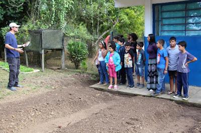 Prefeitura de Juquiá realiza Horta educativa em unidade municipal de ensino