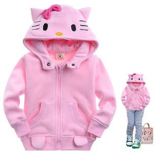 Gambar Jaket Hello Kitty Untuk Anak 1
