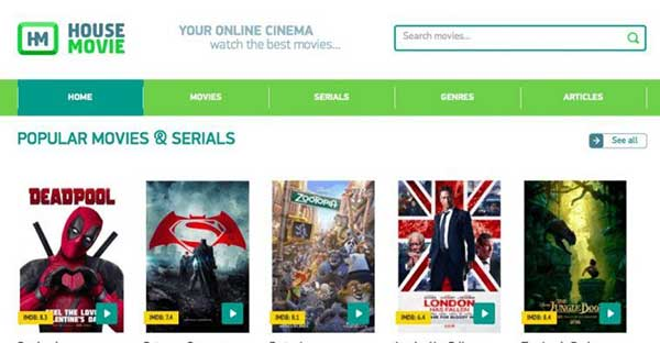 HouseMovie: 40 Sites like OnlineMoviesCinema| Best alternatives to OnlineMoviesCinema