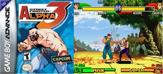 Retro Game of the Week 092: Street Fighter Alpha 3 (GBA)