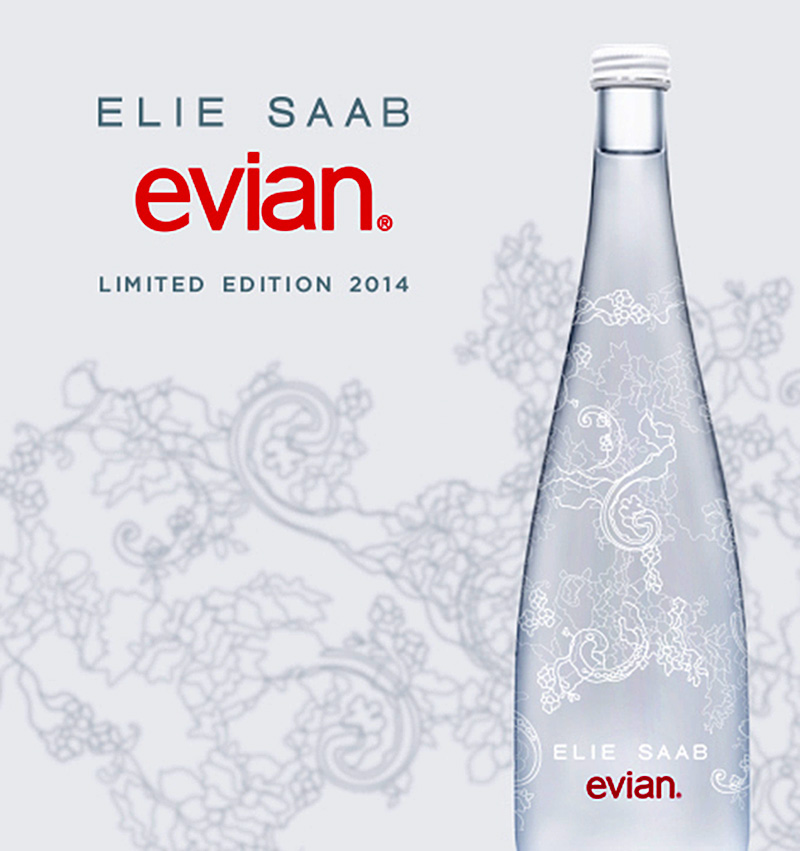 limited edition evian bottle