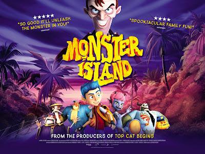 Monster Island (2017) සිංහල උපසිරැසි සමගින්