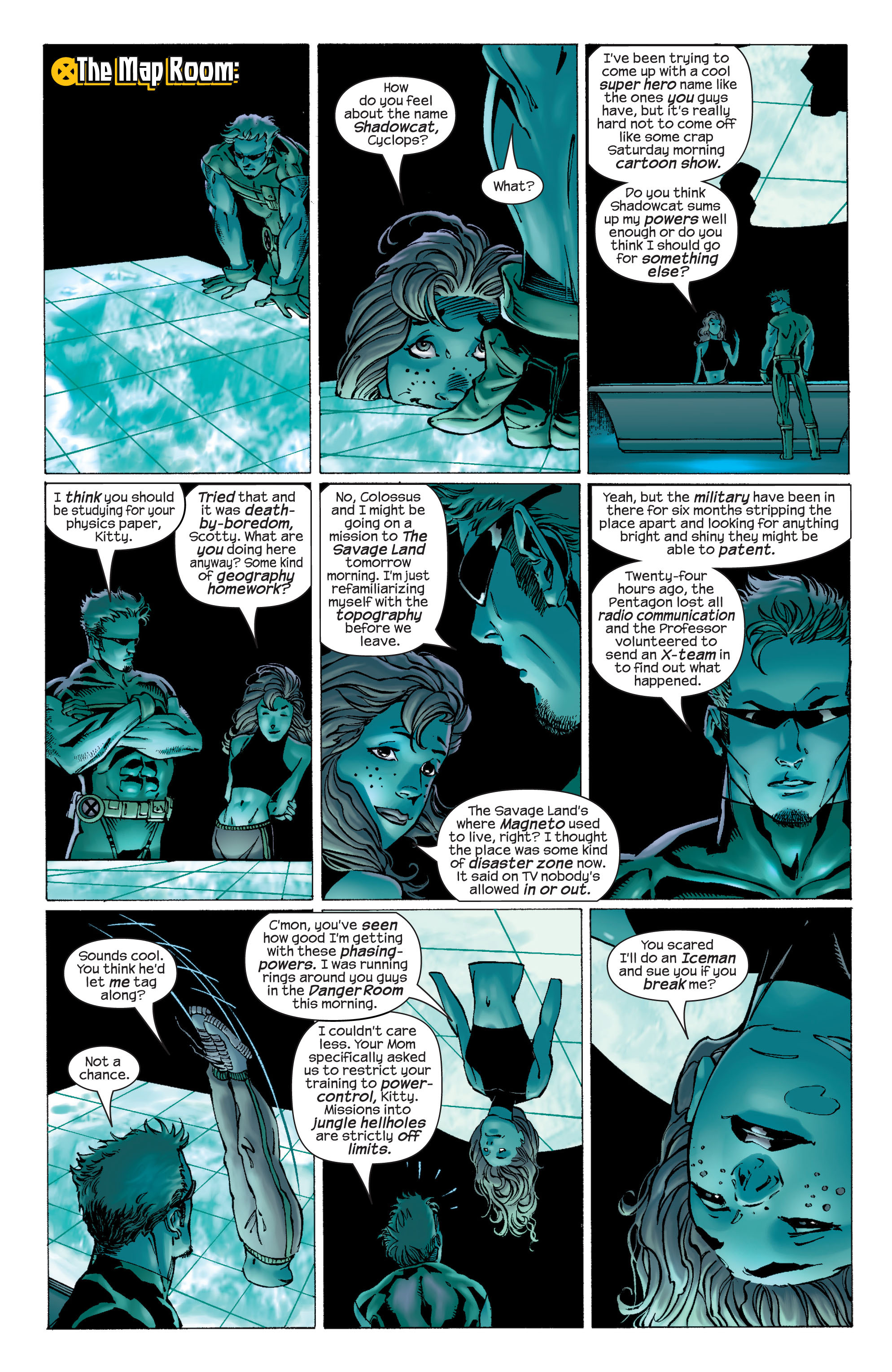 Read online Ultimate X-Men comic -  Issue #22 - 13
