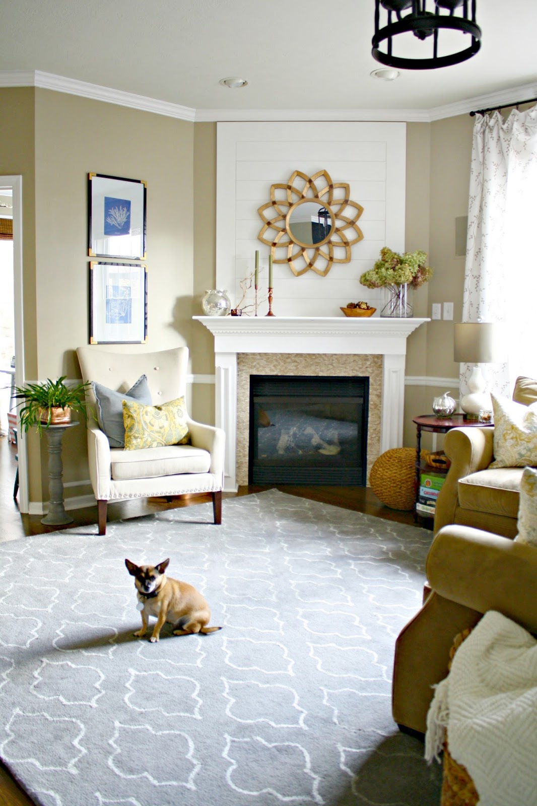 Corner Showcase Designs For Living Room: Our Smartest And Best Renovation! From Thrifty Decor Chick