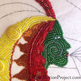 bead embroidery | Leah Day