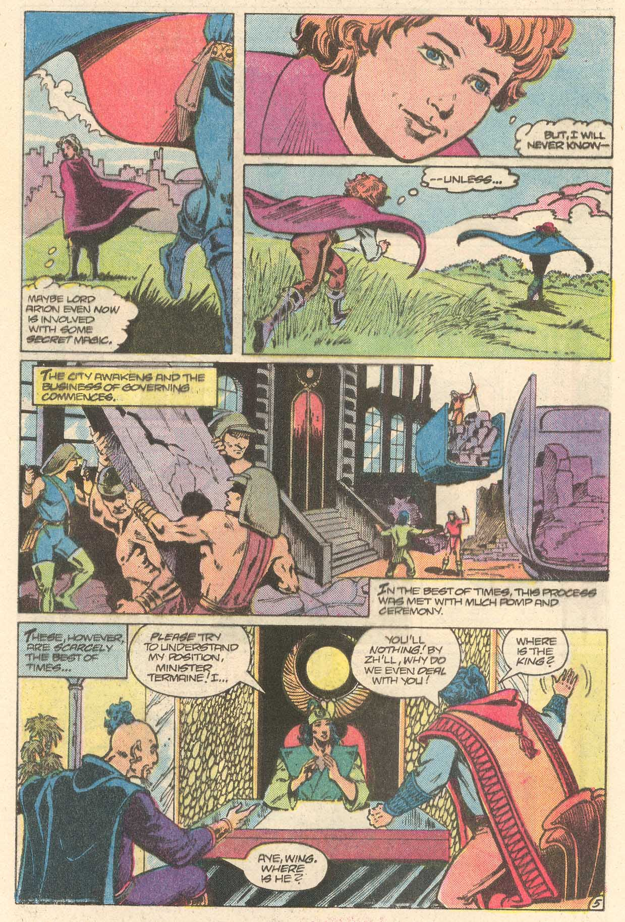 Read online Arion, Lord of Atlantis comic -  Issue #28 - 6