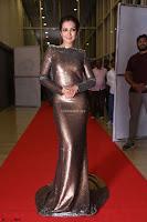 Actress Catherine Tresa in Golden Skin Tight Backless Gown at Gautam Nanda music launchi ~ Exclusive Celebrities Galleries 024.JPG