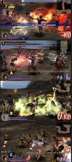 Screenshoot Samurai Warriors