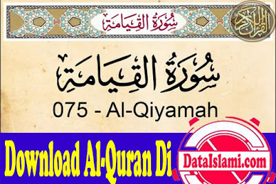 Download Surat Al Qiyamah Mp3 Full Ayat