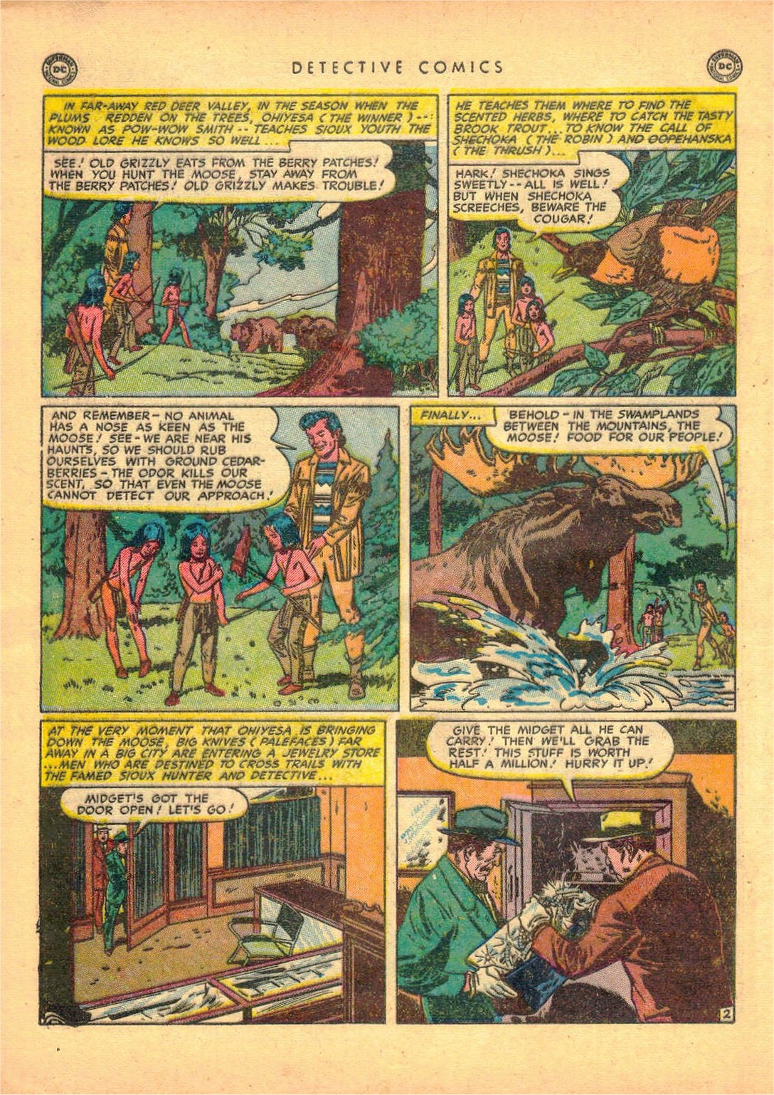 Read online Detective Comics (1937) comic -  Issue #161 - 40