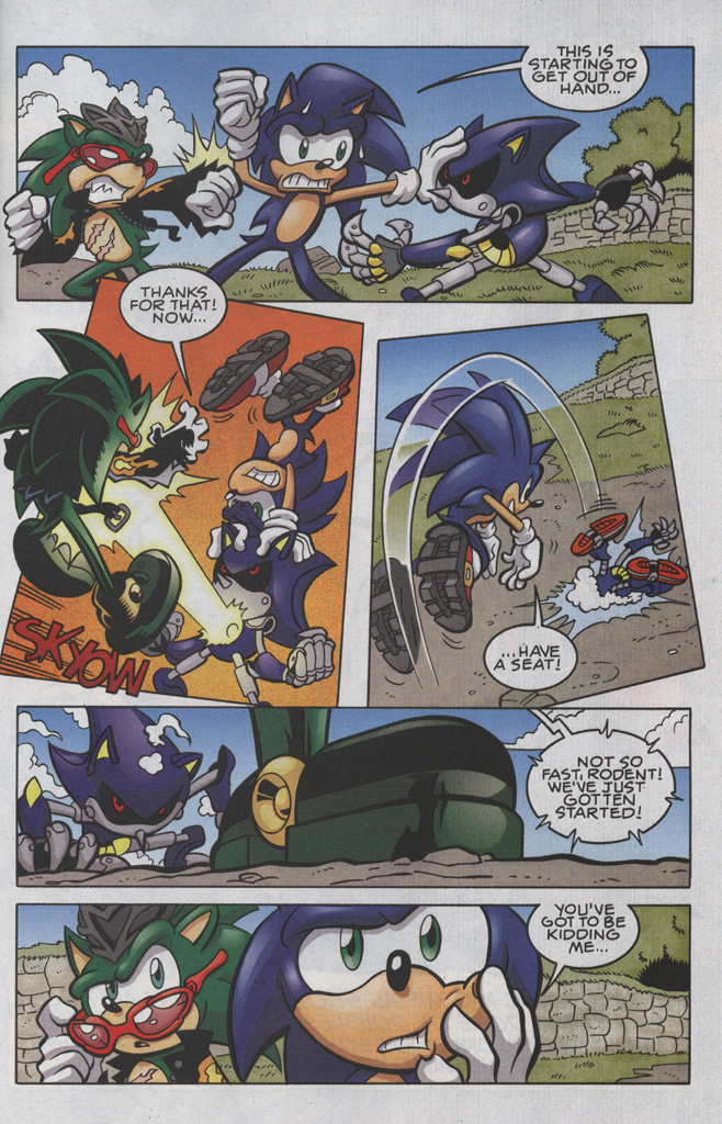 Read online Sonic The Hedgehog comic -  Issue #191 - 18