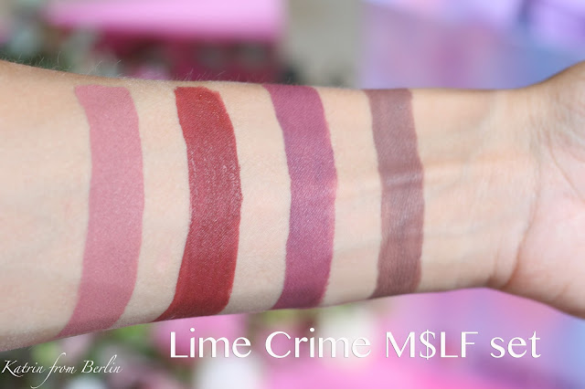 lime crime velvetines swatch