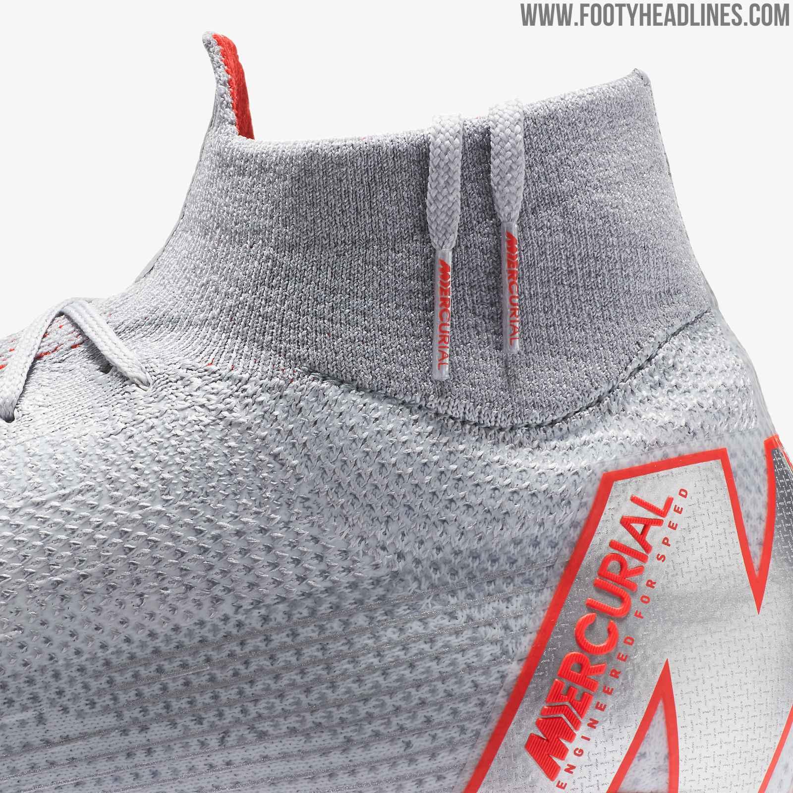 buy online 9cf73 82624 Silver Nike Mercurial Superfly 360 'Raised on Concrete' 2018 ...