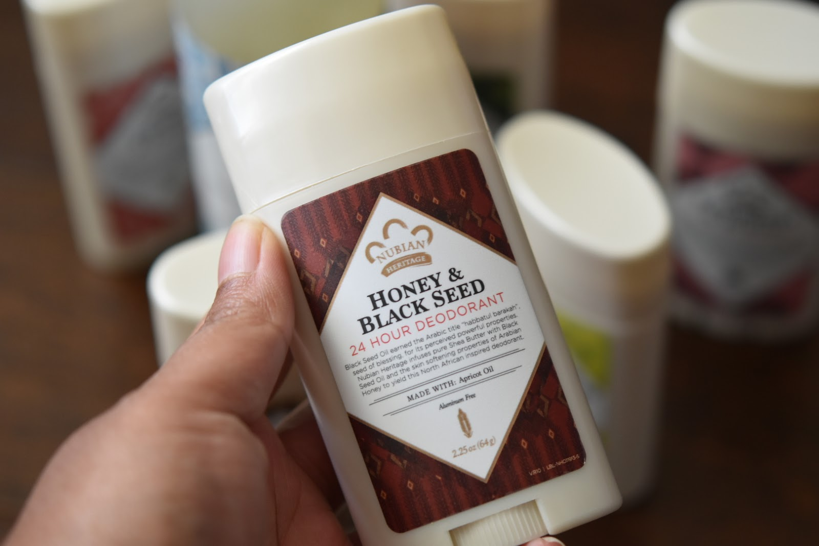 Returning to My Beauty Care Favorite Nubian Heritage: Aluminum-Free 24-Hour Deodorants and Shea Butter & Aloe Body Wash Review  via  www.productreviewmom.com