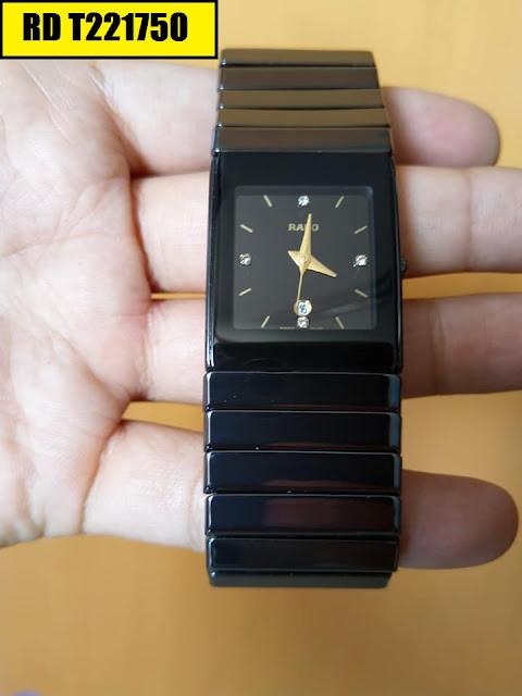 Đồng hồ nam mặt chữ nhật Rado RD T221750