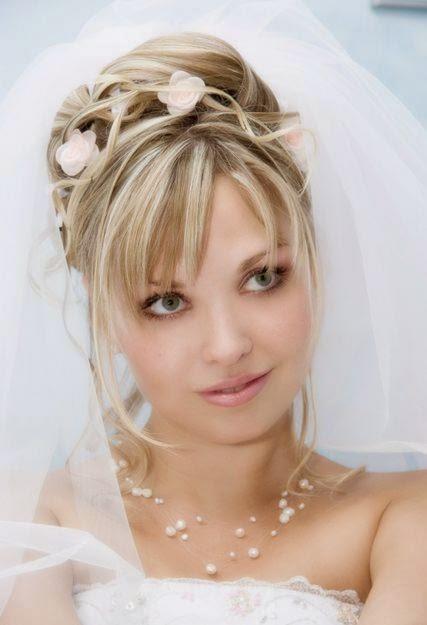 Peinados Y Tendencias De Moda Peinados Para Novias Con Pelo Lacio 2014