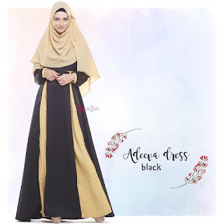 Gamis Valisha Adeeva Dress Black